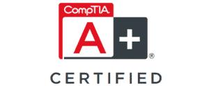 A+ Certification logo