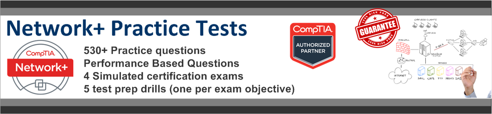 Network+ Practice Quiz for CompTIA Exam N10-006 | CertBlaster