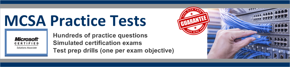 MCSA Practice Tests