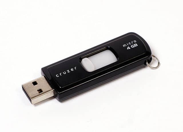 Photo of a USB Thumb Drive