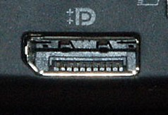 photo of a display port