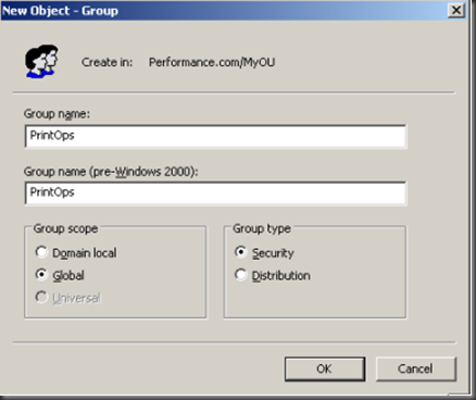 Screenshot of PrintOps