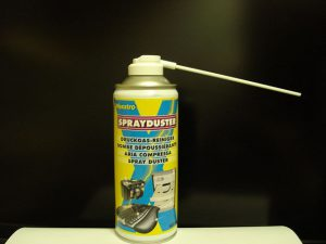 photo of a can containing air