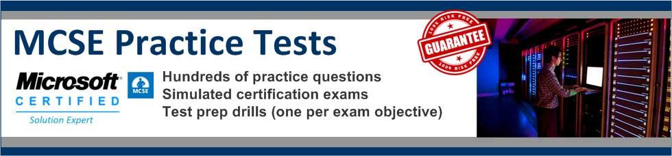 MCSE Practice Tests