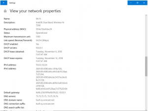 Screenshot of a NIC settings page.