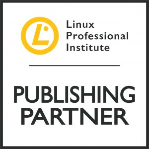 Yellow and black logo of the LPI Publishing Partner program